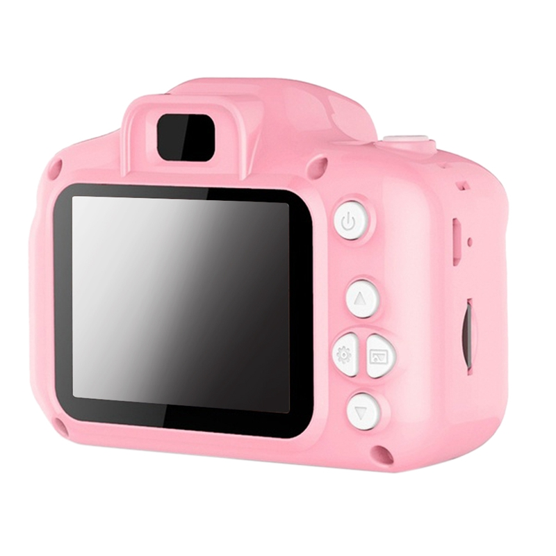 Dc500 Full Color Mini Digital Camera For Children Kids Baby Cute Camcorder Video Child Cam Recorder Digital Camcorders(Pink)