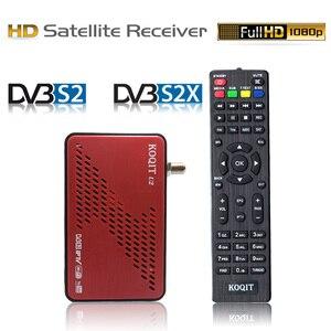 DVB-S2 Receptor Wifi internat Finder Decoder free satellite tv Receiver Satellite DVB-S2X Autoroll Biss key power vu Youtube IKS(China)