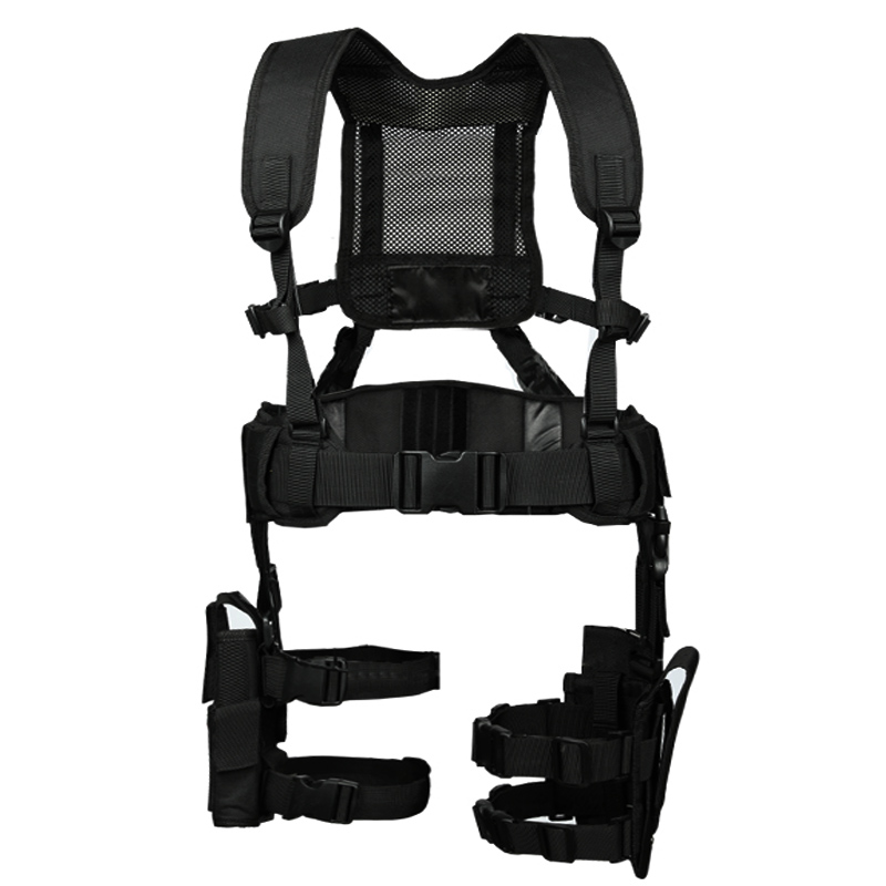 Molle Tactical1000d Nylon Belt Hunting Convenient Combat Girdle Adjustable Soft Padded With Pouch And 5.56mm Mag Pouch Bag