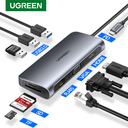 Ugreen USB HUB C HUB zu Multi USB 3.0 HDMI Adapter Dock für MacBook Pro Zubehör USB-C Typ C 3,1 Splitter 3 Port USB C HUB