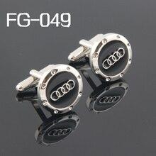 Модные запонки: высококачественные запонки для мужчин запонки с рисунком FG-049 логотипа автомобилей