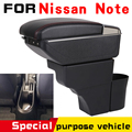 Кожаный Автомобильный подлокотник для Nissan подлокотник поворотный N