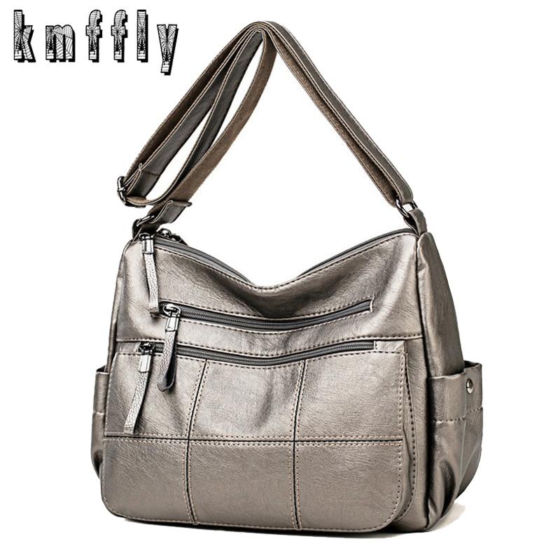 High Quality Soft Leather Luxury Handbags Women Bags Designer Ladies Hand Bags Female Shoulder Crossbody Bags For Women 2019