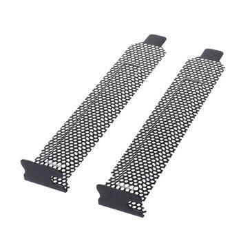 5 sztuk wentylacja deflektor gniazdo PCI rama pokrywy podwozia bity blok wentylator filtr pyłowy wentylacja komputer stancjonarny Case Metal tanie i dobre opinie BGEKTOTH CN (pochodzenie) Other