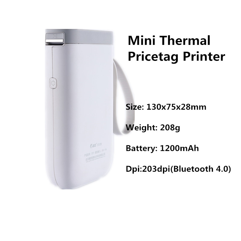 GOOJPRT mini pocket portable Easy use mini thermal bluetooth label pricetag printer non brother hp canon okidata printer no ink or toner (35)_副本
