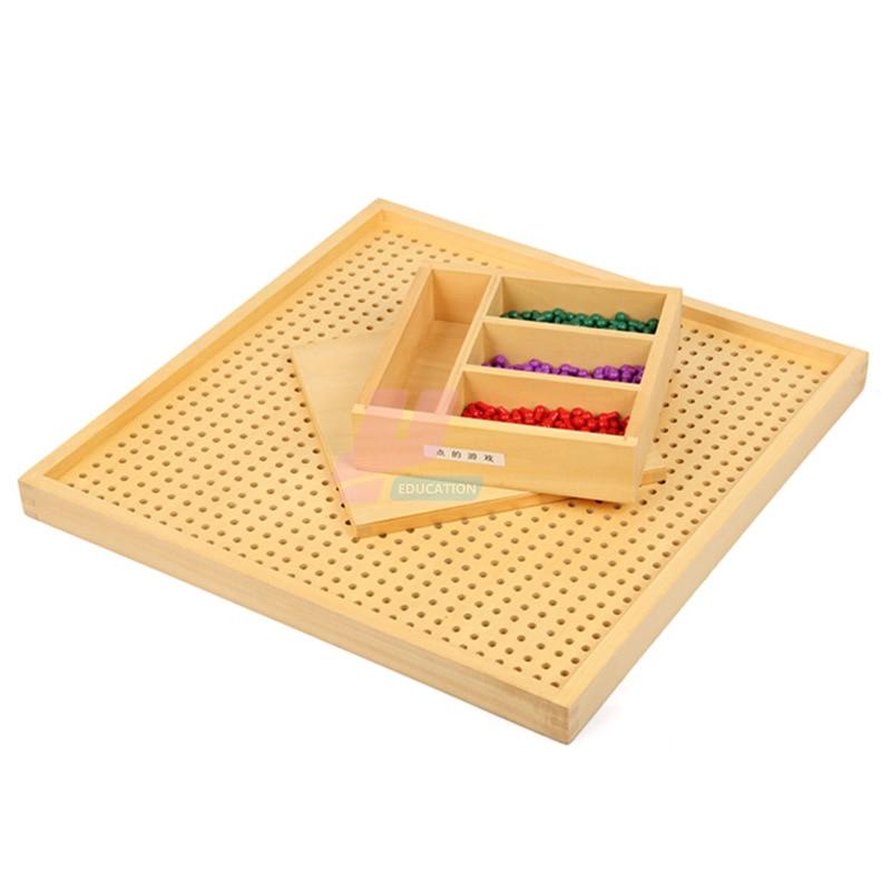 Монтессори материал Математика стандартная версия игры Монтессори Обучающие деревянные игрушки - 2