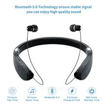 אלחוטי אוזניות Neckband Bluetooth Headphons Sweatproof Fone דה Ouvido Auriculares Bluetooth Inalambrico אוזניות עבור טלפון