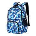 Новое поступление 2020  рюкзак для начальной школы  светильник  школьная сумка с геометрическим принтом  водонепроницаемый рюкзак для подрос...