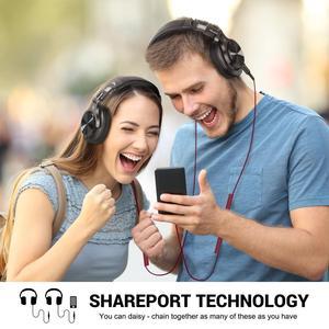 Image 5 - Oneodio A71 מקצועי DJ אוזניות עם מיקרופון נייד Wired אוזניות מוסיקה נעילת נתח אוזניות עבור צג