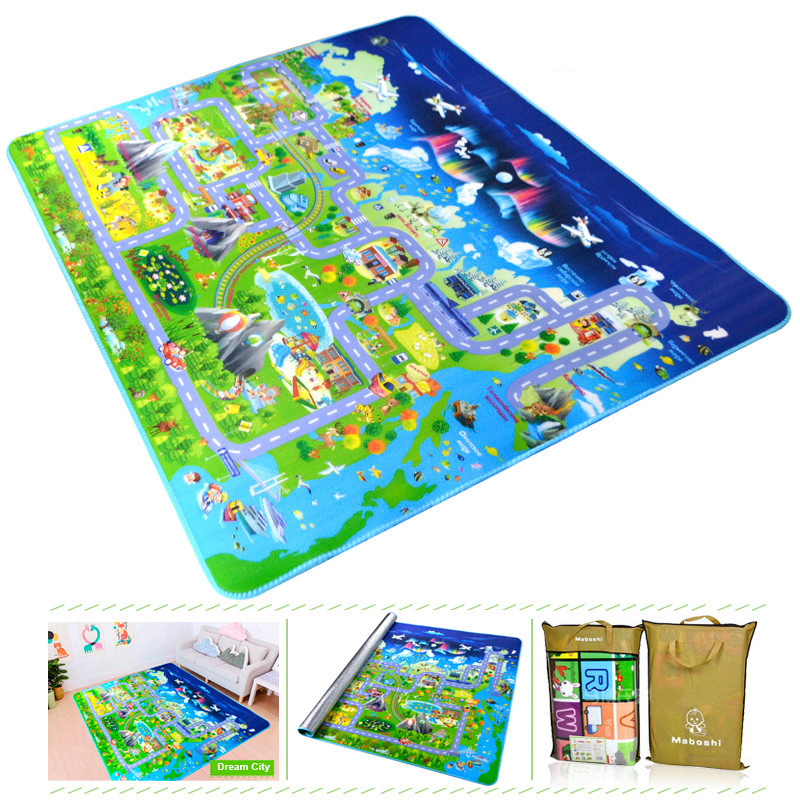 Hcbd577d432f94b52a0fed8d8c84289ebT Baby Play Mat Kids Developing Mat 200*180*0.5 cm Thick Gym Games Play Puzzles Baby Carpets Toys For Children's Rug Soft Floor