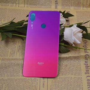 Redmi Note 7 Battery Cover Rear Door Back Housing Case Middle Chassis Replacement Parts For Xiaomi Redmi Note 7 Back Cover