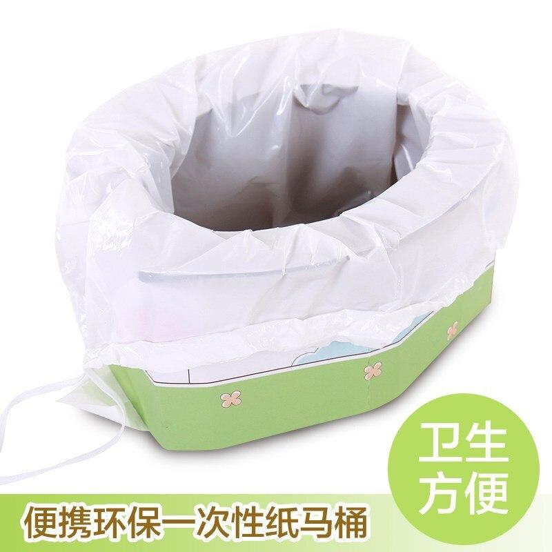 Children Baby Toilet Men And Women Paper Disposable Nursing Travel Portable Closestool Infant Car Sit Potty