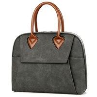 Women Leather Briefcase Stylish Pink Shoulder Laptop Bag for Ladies Waterproof 13.3 14 15.6 Business Quality Laptop Handbag Tote