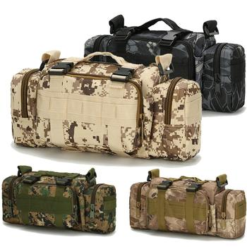 Tactical Molle Camera Bag Camouflage Multifunction Pockets Army  Outdoor Hunting Running Fishing Shoulder Sport Waist Bag tactical hunting trail camera for outdoor sport os37 0034