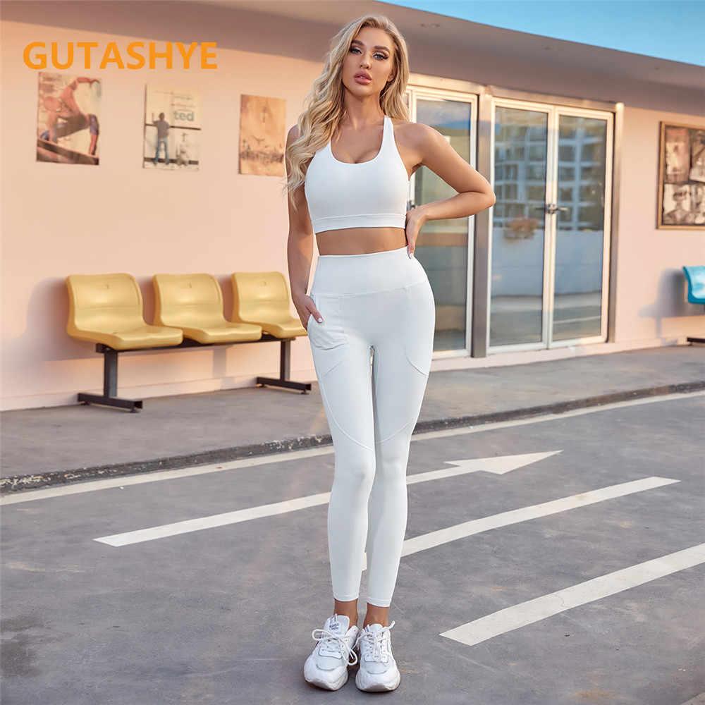 Femme Yoga Soutien-Gorge Sport Fitness Stretch Active d/'Entraînement Sans Couture Running Gym Top