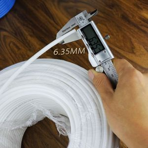 "Image 5 - 1/4 ""לבן PE צינור גמיש צינור צינור עבור RO מים מסנן מערכת אקווריום Revers באיכות גבוהה חדש לגמרי"
