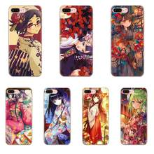 Soft Protective Cute Cartoon Anime Big Eyes Kimono Girl For Apple iPhone 11 Pro X XS Max XR 4 4S 5 5C 5S SE 6 6S 7 8 Plus(China)