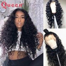 13*4 brazylijski luźne głęboka koronkowa fala przodu włosów ludzkich peruk dla kobiet Remy włosów ludzkich włosów peruka z dzieckiem włosy produkty queen Hair
