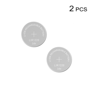 Image 1 - Li ion Rechargeable Battery LIR1220 3.6V Lithium Button Built in Coin Cell Batteries Watch Cells LIR 1220 Replaces CR1220
