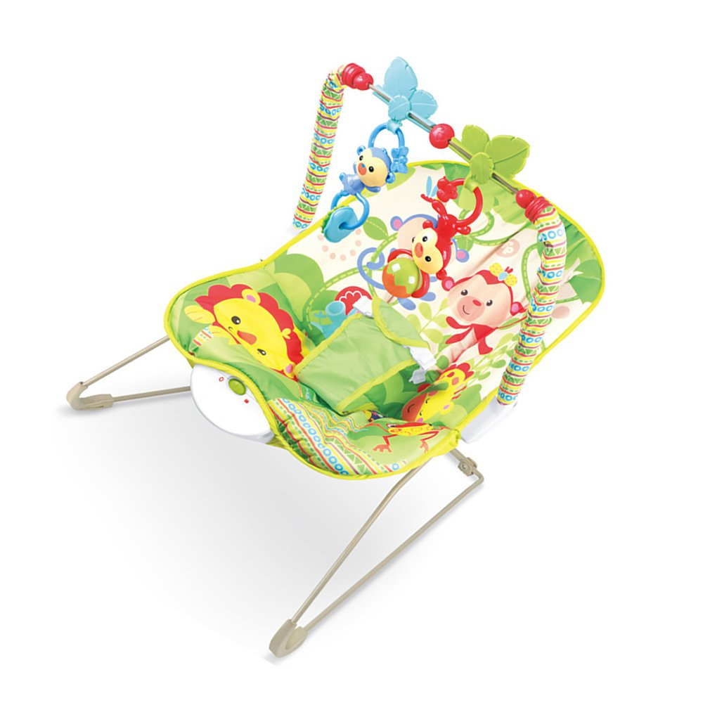Hcbd62b96bc7b490aa3d4fe440699345aR Baby electric rocking chair Multi-function music vibrating shaker Children's rocking chair recliner toy