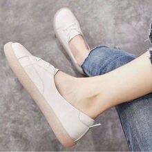 Женские туфли оксфорды на плоской подошве повседневные однотонные