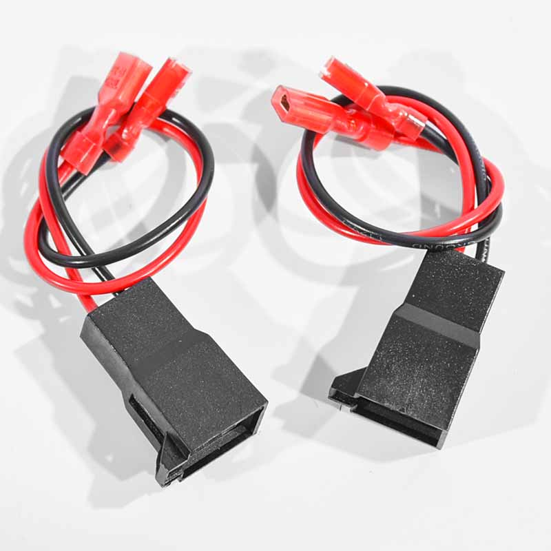2Pcs/Set 15cm Speaker Cable Adaptor Wire Connector For Vauxhall /Renault /Volkswagen /Nissan /Audi