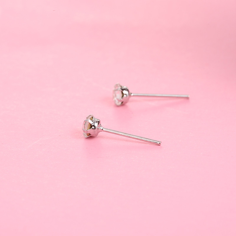 12 Pairs/set Crystal Stud Earrings for Women 2019 New Fashion Cute Earring 4mm Small Simple Crystal Earrings Jewelry Gifts