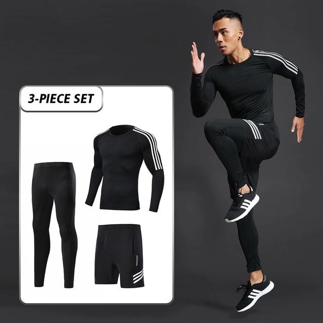 men's sports training suit  2