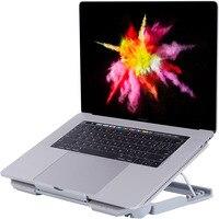 Notebook suporte para macbook ar pro lenovo dell hp asus portátil portátil suporte de computador dobrável suporte de refrigeração usb