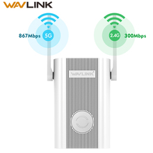 1200Mbps 2.4G 5G Dual Band Ap Draadloze Wifi Lange Range Extender Wifi Booster 802.11ac Externe Antennes Werk online & Online Studie