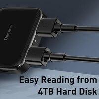 pc עם Baseus HUB USB 2.0 Multi 4 ב 1 USB Port Hab Expander מפצל USB HUB מתאם עם מיקרו עבור מחשב נייד PC מחשב אביזרים (4)