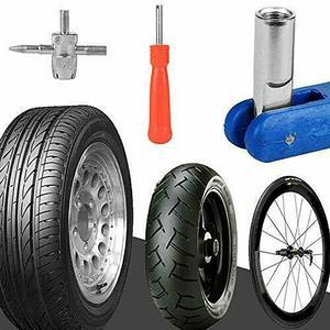 Image 3 - 3/43本タイヤバルブプラーチューブ金属タイヤ修理ツールバルブコア車オートバイ修復ツールキットアクセサリー