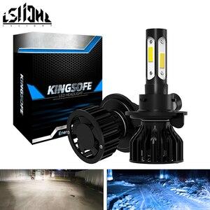 Image 1 - LSlight 9006 HB4 LED 9005 HB3 H4 H7 H8 H9 H11 Car Led Headlight Bulbs Auto Fog Lights DC12V Headlamp 6000K White 8000K Ice Blue