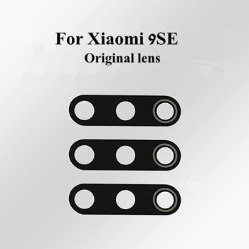 100% Original Glass lens For Xiaomi 9SE mi 9SE Camera lens Cover Case With stickers Replacement parts