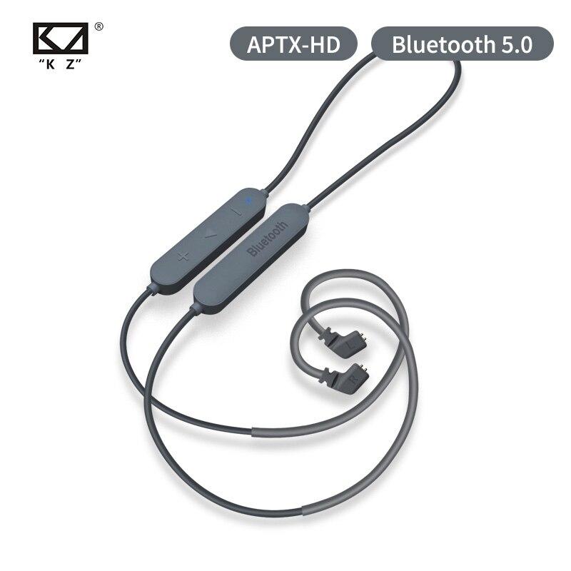 KZ Bluetooth 5.0 Earphone  Aptx HD CSR8675 Module Headset Upgrade Cable Applies Original Headphone KZ AS10 ZST ES4 ZSN ZS10 AS16