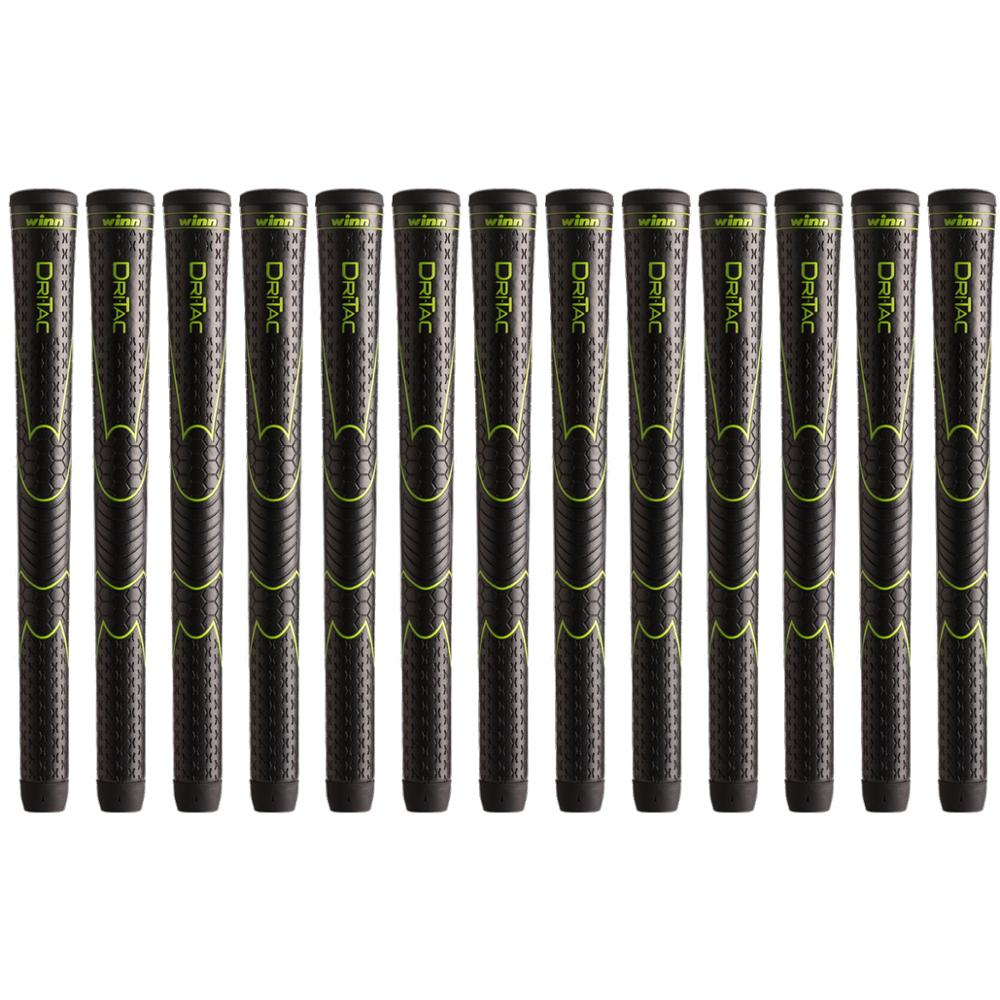 9PCS WINN DRITAC AVS OVERSIZE GOLF GRIP HIGHT QUALITY PU LEATHER GOLF CLUB GRIPS Free Shipping