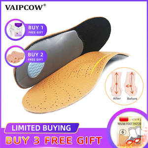 Orthotic-Insole Correction Flat-Foot-Shoe High-Arch-Support Premium Health Unisex