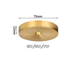 Image 2 - Bề Mặt Gắn Đèn LED Âm Trần Downlight 3W 5W 7W 220V Ốp Trần Đèn Siêu Mỏng Driverless Đèn LED Đèn sách Giá Để Chiếu Sáng