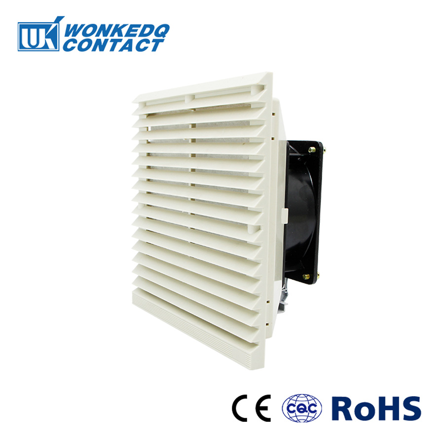 Cabinet  Ventilation Filter Set Shutters Cover  Fan Grille Louvers Blower Exhaust Fan Filter FK-3323-230 Filter With Fan