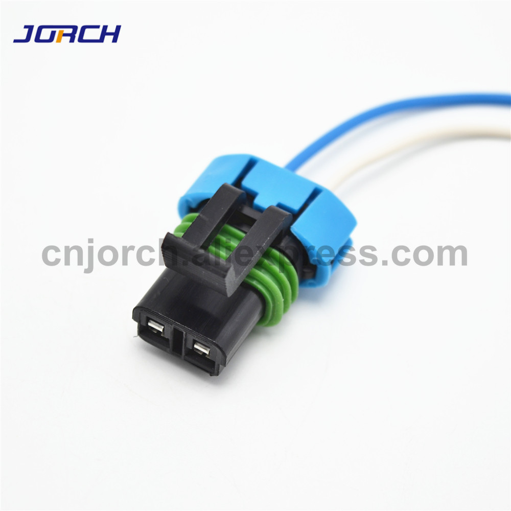 gm fan wiring 1pc gm delphi 2 pin wiring harness female sensor auto plug car fan  1pc gm delphi 2 pin wiring harness