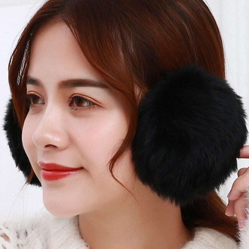 Plush Earmuffs Winter Ear Protector Warm Ear Muffs Cover Plush Winter Ear Warmers High Quality Women Winter