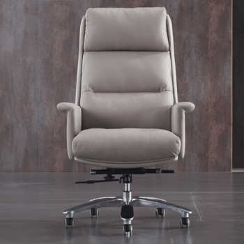 High Grade Armchair Boss Genuine Leather Business Office