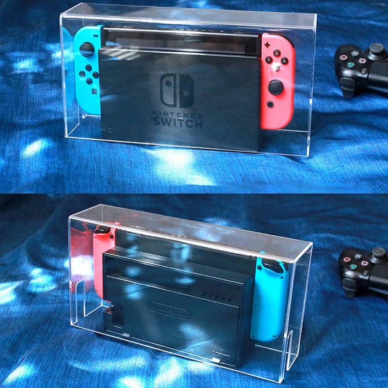Nintend Switch Dust Cover Transparent Acrylic Case Cover Waterpoof