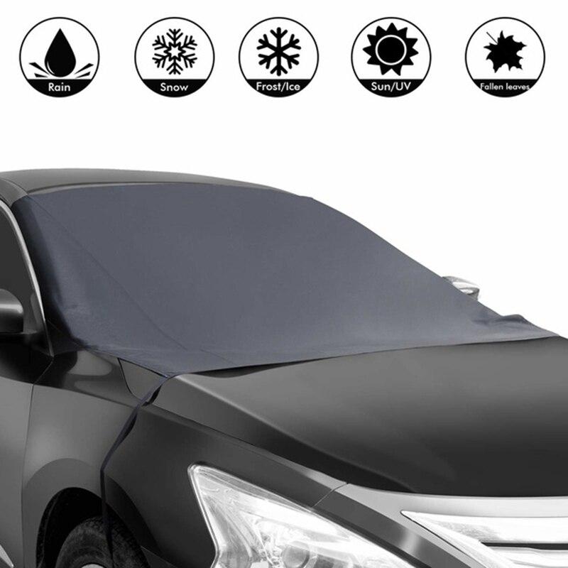 Imán coche parabrisas discos cubierta de invierno de nieve hielo Frost viento protección