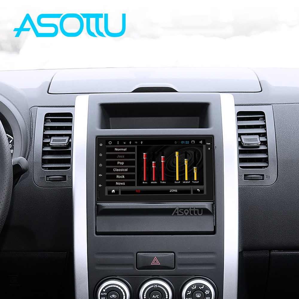 Asottu PX30 android 9,0 coche dvd para nissan qashqai x-trail almera nota juke universal multimedia gps de navegación del coche jugador