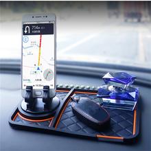 Samochód Anti-slipmata 360 stopni kąt uchwyt na telefon numer telefonu dekoracja deski rozdzielczej mata antypoślizgowa slipmata uchwyt GPS perfumy Seat tanie tanio INSEET CN (pochodzenie) Tworzywa sztuczne Car Non-slip Mat Car Dashborad decoration