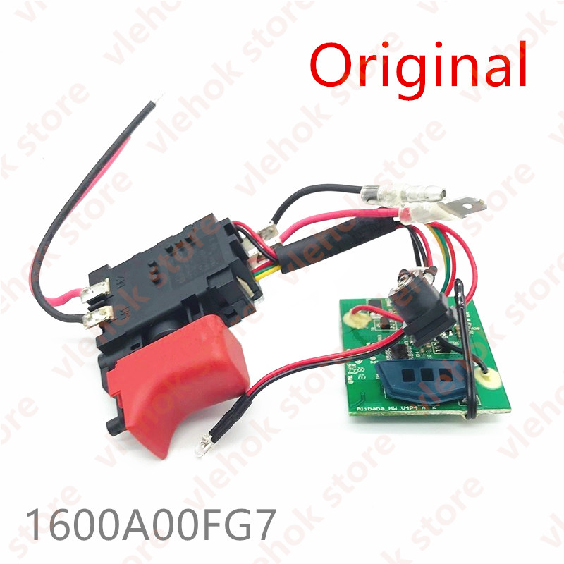 Eletronics Module Switch For BOSCH TSR1000 GSR1000 GSR1000SMART 1600A00FG7 Cordless Drill Driver Power Tool Accessories Part