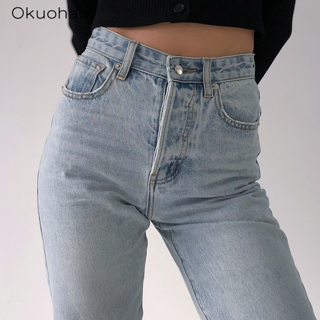 Loose Comfortable Jeans  5