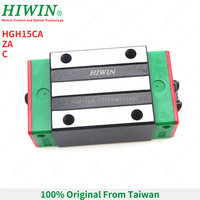 Free Shipping HIWIN HGH15CA SLIDING BLOCK carriages FOR 15MM LINEAR GUIDE RAIL HGR15 FOR CNC kits