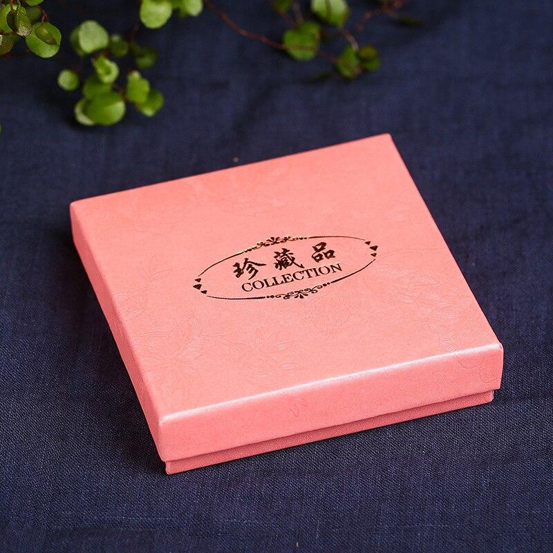 Buddhist Prayer Bead Crafts Gift Box Gift Bracelets Bracelet Bracelets Packaging Box 9*9*2.5 Jewlery Box Shou Chuan He